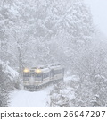 tadami line, local line, snowy 26947297