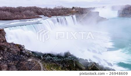 Niagara falls long exposure view 26948609