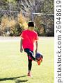 축구, 소년, 1명 26948619