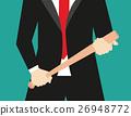 Businessman with baseball ba 26948772