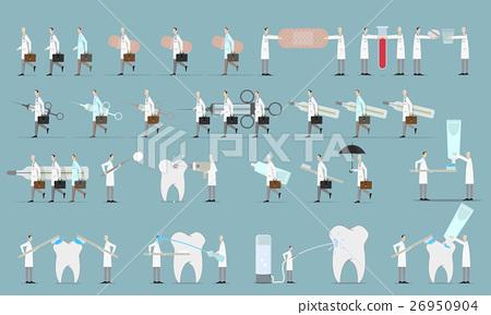 Medical Staff Character Set 26950904