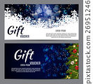 Christmas and New Year Gift Voucher, Discount 26951246