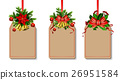 Christmas decoration with bow 26951584