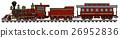 Vintage american train 26952836