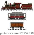Vintage american steam train 26952839