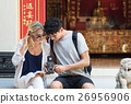 Trave Trip Vacation Camera Photo Memory Couple Concept 26956906