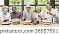 dinner, friends, meal 26957501