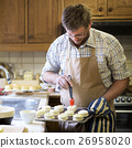 Man Apron Cooking Baking Bakery Concept 26958020