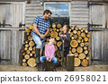 Firewood Fuelwood Lumber Timber Lumber Log Concept 26958021
