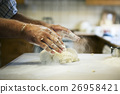 Preparing Scone Dough Pressing Concept 26958421