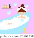 一個女人洗個澡 26960358