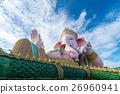 Pink ganesha statue 26960941