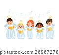 christmas, choir, vector 26967278