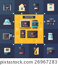 Internet Of Things Retro Composition Poster 26967283
