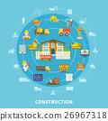 Flat Construction Elements 26967318