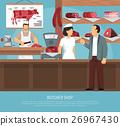 poster, shop, butcher 26967430