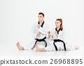karate, couple, female 26968895