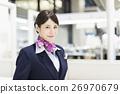 机场 乘务员 人 26970679