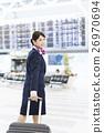 机场 乘务员 人 26970694