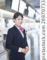 机场 乘务员 人 26970733