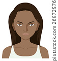 Woman with dark skin 26972576
