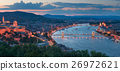 Gelert hill view of Szechenyi Bridge and Buda 26972621