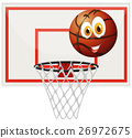 ball basketball goal 26972675