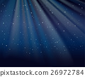 Background template with stars in sky 26972784