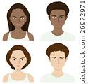 여성, 얼굴, 사람 26972971