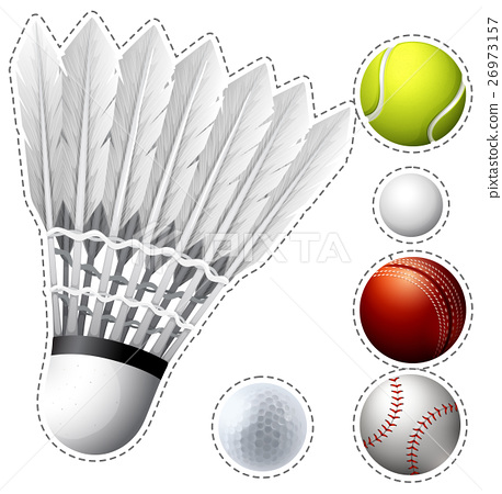 Different types of balls 26973157
