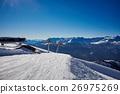 Mountains ski resort Caucasus 26975269