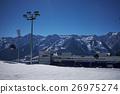 Mountains ski resort Caucasus 26975274