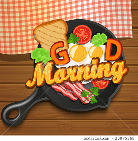 English breakfast. Vector. 26975569