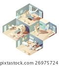 concept, hospital, isometric 26975724