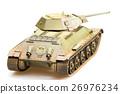 Model of soviet old T-34 tank 26976234