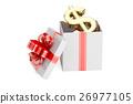 gift, dollar, box 26977105