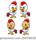 Chicken Character is a polite greeting. 26978038