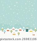winter, house, housing 26983106