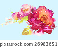 Flowers watercolor illustration 26983651