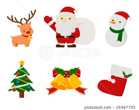 圣诞节材料 26987795