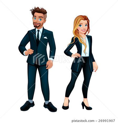 Elegant boy and girl 26991907