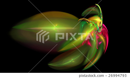 Colorful watercolor explosion abstract background 26994793