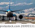 飞机 客用飞机 跑道 26995531