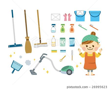 各种清洁工具 26995623