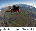 跳傘 晴天 風景 26996033