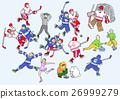 冰球 運動 幸福 26999279