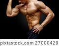 肌肉 肌肉發達 赤膊 27000429