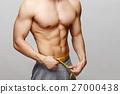 肌肉 肌肉發達 赤膊 27000438