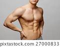 肌肉 肌肉發達 赤膊 27000833