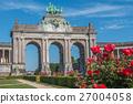 Parc du Cinquantenaire in Brussels Belgium 27004058